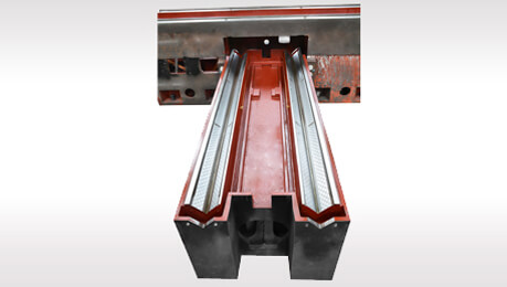 saddle type 1020~1640 SD/PD Cross feed column slide