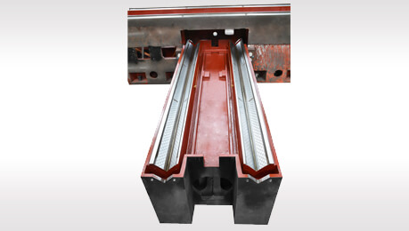 Heavy duty column type 3468 AHD Cross feed column slide