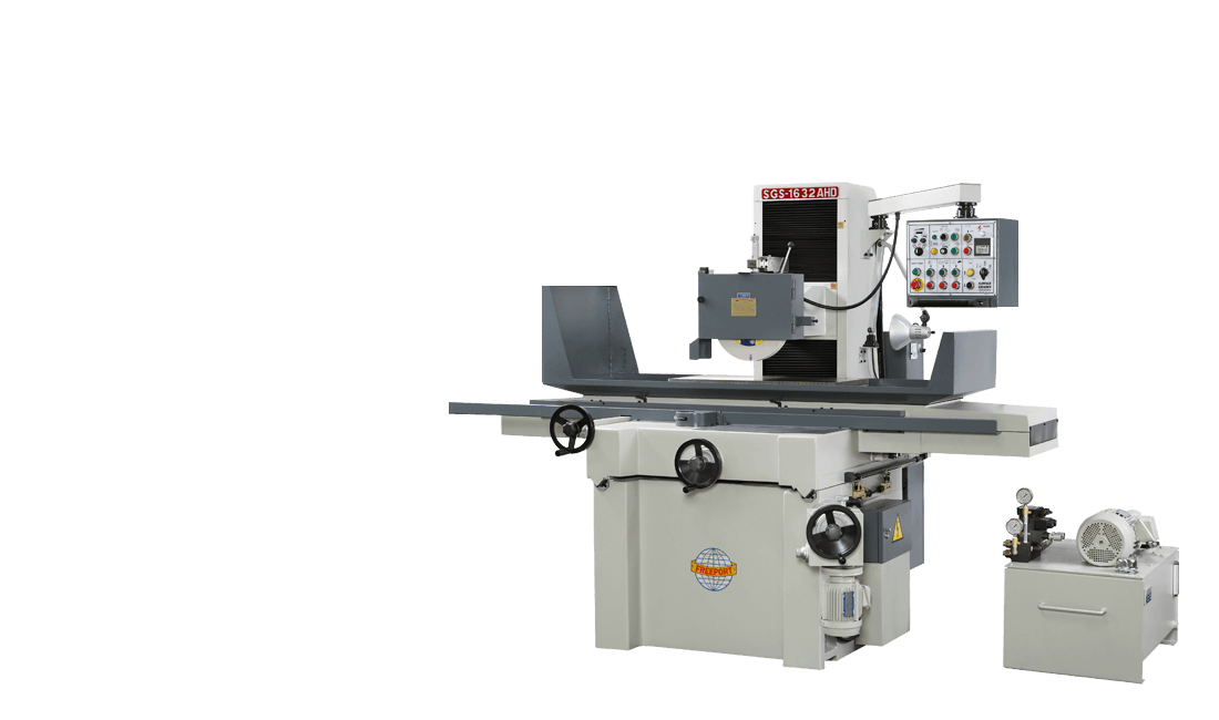 The first surface grinder machine product photo